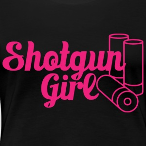 Shortgun Girl - Women's Premium T-Shirt