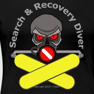 Search And Recovery Diver Yellow Bottles - Women's Premium T-Shirt