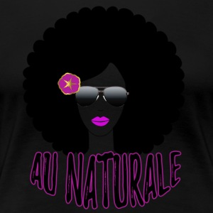 The Natural Woman - Women's Premium T-Shirt