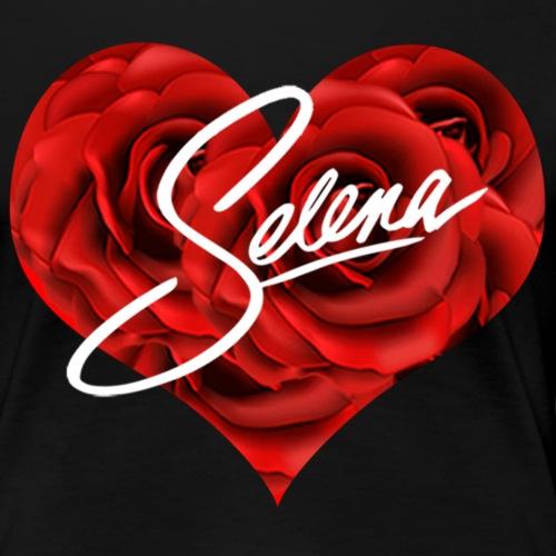Selena heart - Women's Premium T-Shirt