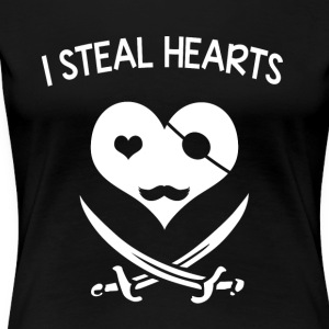 I steal hearts - Women's Premium T-Shirt