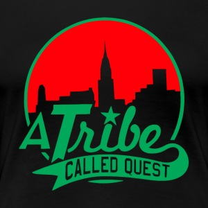 a_tribe_called_quest_green_red - Women's Premium T-Shirt