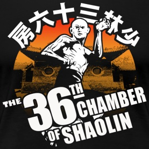 THE 36th CHAMBER OF SHAOLIN Classic Kungfu Movie - Women's Premium T-Shirt