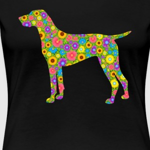 German Shorthair Pointer Tee Shirt - Women's Premium T-Shirt