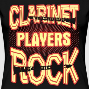 CLARINET PLAYERS ROCK SHIRT - Women's Premium T-Shirt