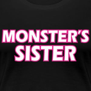 Awesome Monsters Sister - Women's Premium T-Shirt