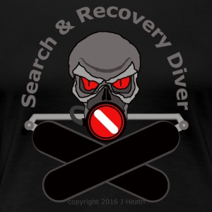 Search and Recovery Diver - Women's Premium T-Shirt