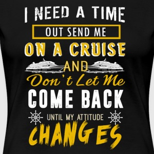 On A Cruise Shirt - Women's Premium T-Shirt