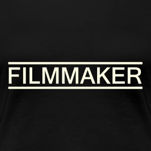 filmmaker white - Women's Premium T-Shirt