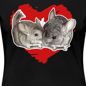 Chinchilla Love Tee Shirt - Women's Premium T-Shirt