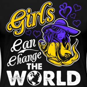Ukrainian Girls Can Change The World - Women's Premium T-Shirt