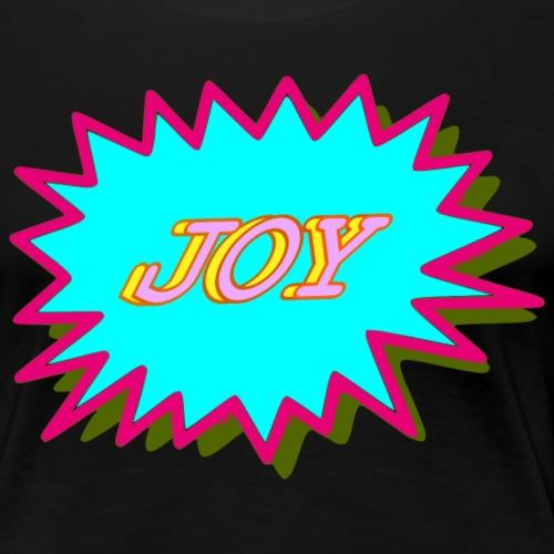 JOY popart2 - Women's Premium T-Shirt