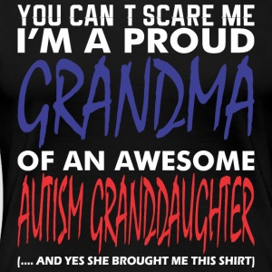 Im Proud Grandma An Awesome Autism Granddaughter - Women's Premium T-Shirt