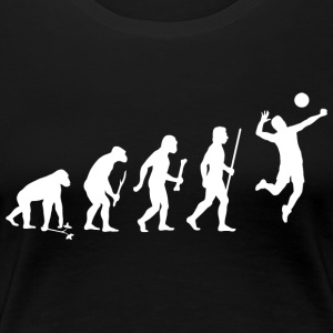 Volleyball Evolution - Women's Premium T-Shirt