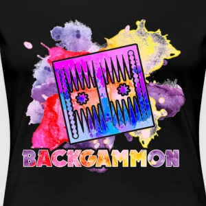 Backgammon Tee Shirt - Women's Premium T-Shirt