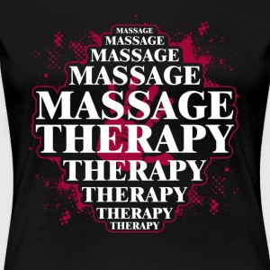 MASSAGE THERAPY TEE SHIRT - Women's Premium T-Shirt
