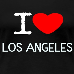 I LOVE LOS ANGELES - Women's Premium T-Shirt
