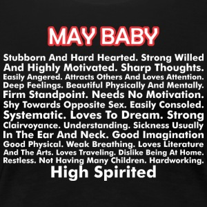 About May Born Baby - Women's Premium T-Shirt