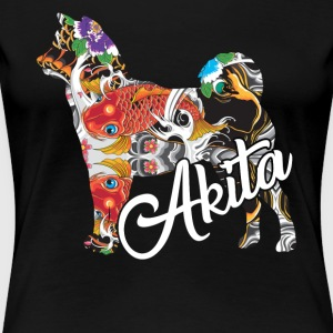 AKITA NATIONAL TREASURE SHIRT - Women's Premium T-Shirt