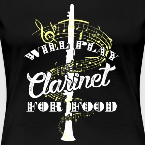 WILL PLAY CLARINET SHIRT - Women's Premium T-Shirt