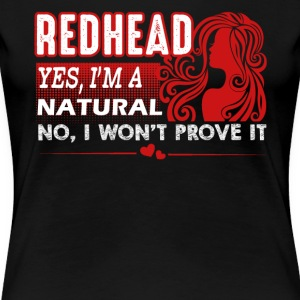 Natural Redheads Shirt - Women's Premium T-Shirt