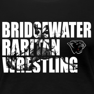 BR Panther Wrestling Cut-Out - Women's Premium T-Shirt