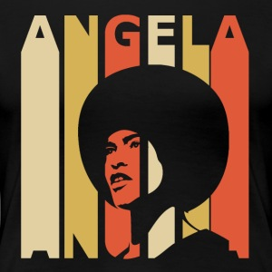Retro Angela - Women's Premium T-Shirt