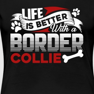 BORDER COLLIE SHIRT - Women's Premium T-Shirt
