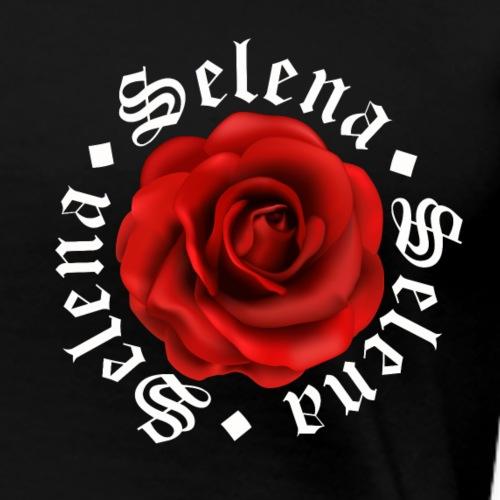 Selena Quin Red rose - Women's Premium T-Shirt
