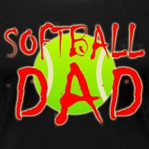 Softball Dad - Women's Premium T-Shirt