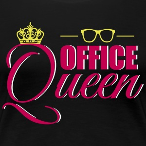 Cute Office Queen T-Shirt for Secretary - Women's Premium T-Shirt
