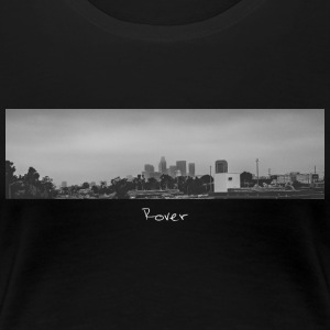 Los Angeles Skyline Panorama - Women's Premium T-Shirt