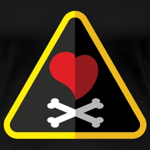 Love is a Pirate (Sometimes) - Women's Premium T-Shirt