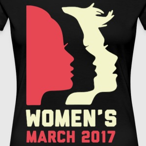 Women's March 2017 Shirt - Women's Premium T-Shirt