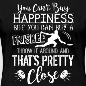 Ultimate Frisbee Happiness Shirt - Women's Premium T-Shirt