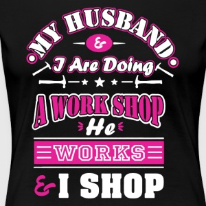 Mechanic Wife Shirt - Women's Premium T-Shirt