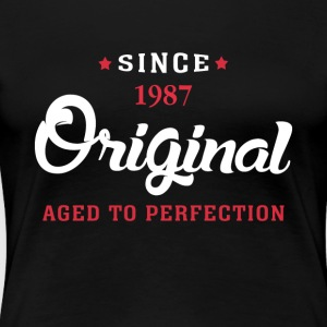 Since 1987 Original Aged To Perfection Cool Gift - Women's Premium T-Shirt