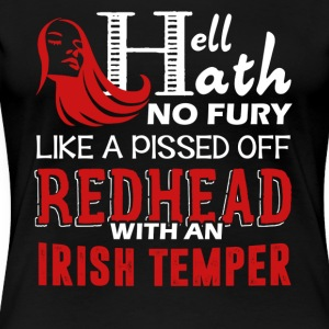 Pissed Off Redhead Shirt - Women's Premium T-Shirt