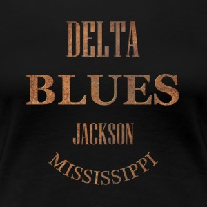 blues jackson mississippi - Women's Premium T-Shirt