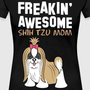 Freaking Awesome Beagle Mom - Women's Premium T-Shirt