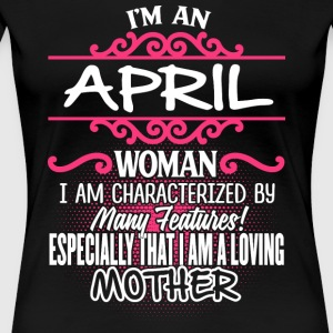 APRIL Woman And Mother - Women's Premium T-Shirt