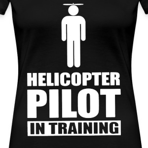 Helicopter Pilot In Training - Women's Premium T-Shirt