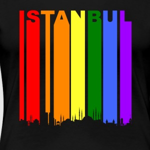 Istanbul Turkey Rainbow LGBT Gay Pride - Women's Premium T-Shirt