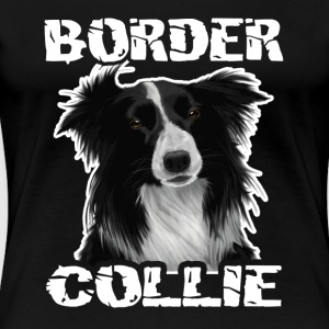 border collie tee shirt - Women's Premium T-Shirt