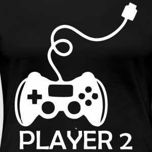 Player2 Gamer Happy Fathers Day - T-shirt premium pour femmes