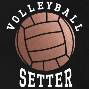 Rose Gold Volleyball Setter - Women's Premium T-Shirt
