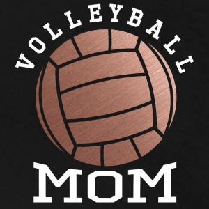 Rose Gold Volleyball Mom - Women's Premium T-Shirt