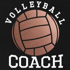 Rose Gold Volleyball Coach - Women's Premium T-Shirt