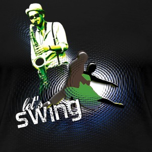 swing02 - Women's Premium T-Shirt