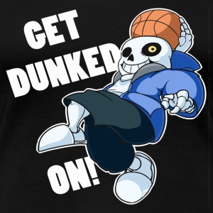 Undertale Sans Dunked - Women's Premium T-Shirt